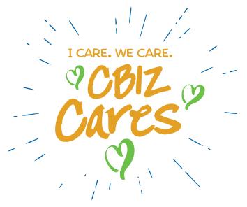 CBIZ cares