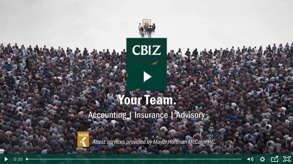 CBIZ your team video