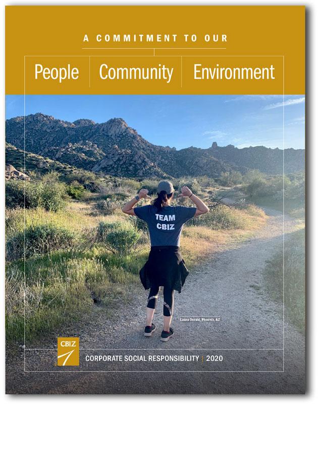 CBIZ CSR report