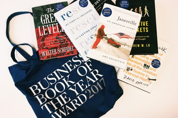 Best Business Books of 2017