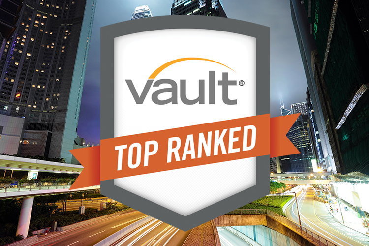 2018 Vault Midsize Law Firm Rankings